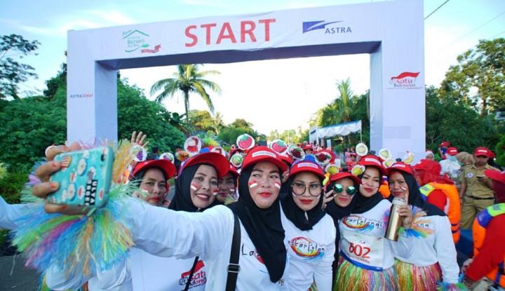 Festival Kampung Berseri Astra Meriahkan HKN di Tanjung Binga - Warta Ekonomi