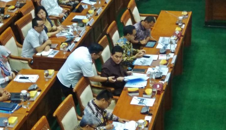 Di Depan DPR, Erick Jelaskan Pemangkasan dan Formasi Baru Eselon I Kementerian BUMN - Warta Ekonomi