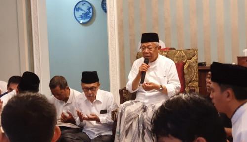 Foto Soal Wacana Ada Polisi di Masjid, Wapres Bilang...