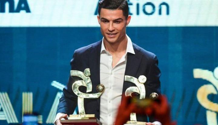 Messi Raih Trofi Utama, Ronaldo Kok Cuma Dapat Hadiah Hiburan - Warta Ekonomi