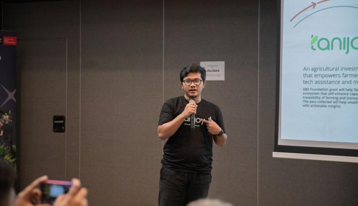Tanijoy, Satu-satunya Penerima Dana Hibah DBS Foundation 2019 dari Indonesia - Warta Ekonomi