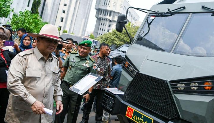 Sstt!! Jangan Kaget, Ini yang Dibawa Prabowo Subianto ke Negara Paman Sam