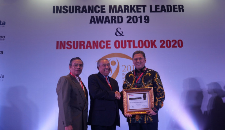 Tugu Insurance Raih Penghargaan Insurance Market Leader 2019 - Warta Ekonomi