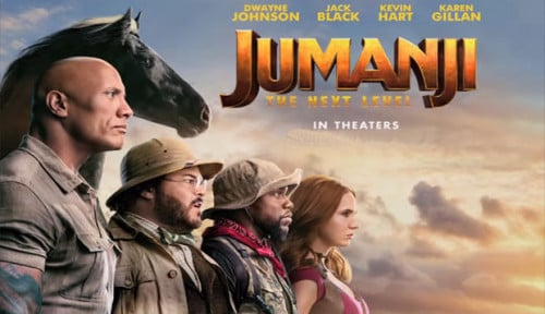 Foto Belum Genap 2 Pekan, Jumanji: The Next Level Raup USD60 Juta dan Mantap di Puncak Box Office!