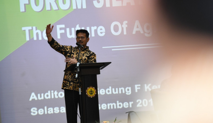 Mentan Syahrul Minta IPB Kawal Pembangunan Pertanian - Warta Ekonomi