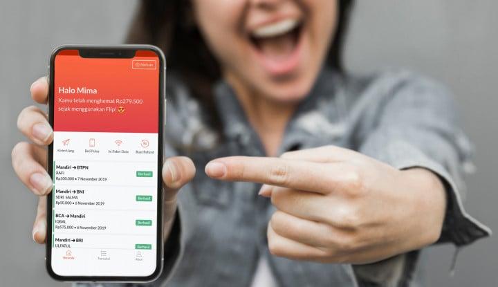 Wooho! Flip.id Luncurkan Fitur Transkasi Real-Time, Gratis Pula - Warta Ekonomi