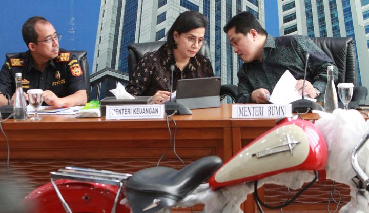 Omnibus Law Sah, Sri Mulyani Bakal Duet Maut dengan Erick Thohir