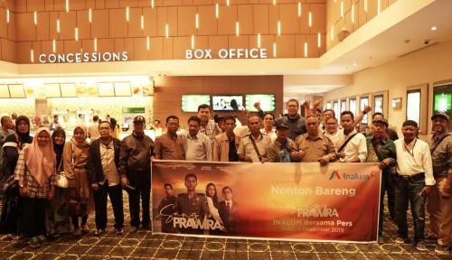 Foto Dukung Wisata Danau Toba, Inalum Gelar Nobar Bareng Jurnalis Sumut, Film...