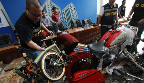 Foto Kasus Harley Gelap, Polisi Bakal Seret ke Pidana?