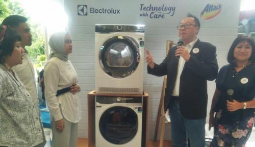 Foto Canggih, Mesin Cuci Electrolux Bisa Beri Saran Merawat Pakaian