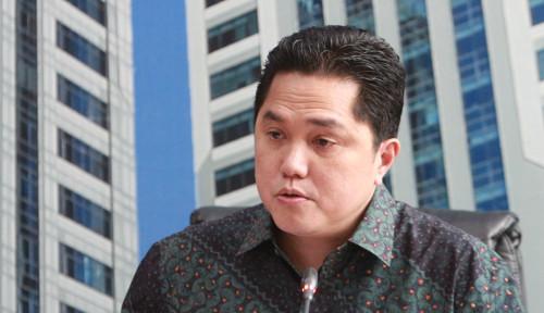 Foto Dampak Corona, Jatuh Tempo Utang BUMN Bikin Erick Thohir Cemas