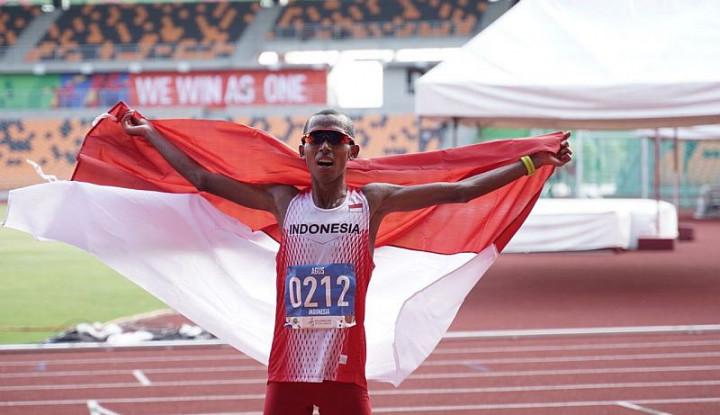 Emas Pertama dari Cabang Atletik, Agus Prayogo Catatkan Waktu Tercepat - Warta Ekonomi