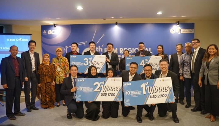 BCA dan PPM Gelar Kompetisi Bergengsi, The 10th PPM RBCC 2019 - Warta Ekonomi