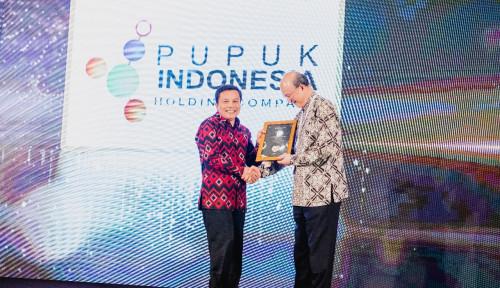 Foto Lagi, Pupuk Indonesia Raih Prestasi. Kali Ini dari ASEAN Risk Award 2019 di Bali