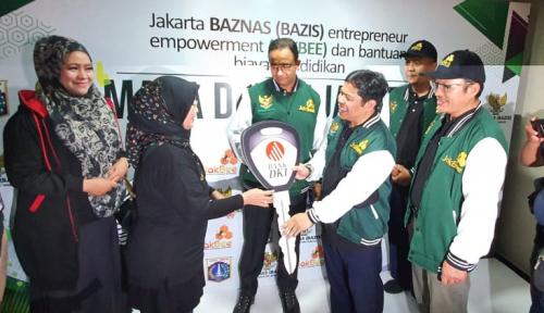 UUS Bank DKI Dukung Layanan Penerimaan ZIS Sejumlah Amil Zakat