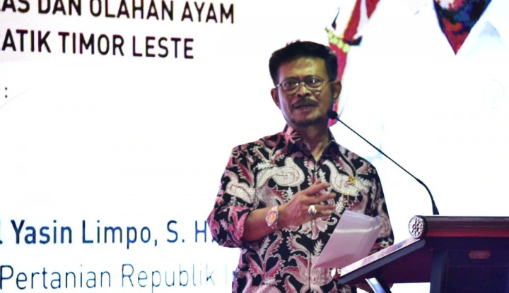 Realisasi Ekspor Tiga Kali Lipat, Mentan SYL Lepas Ekspor Peternakan dari Jawa Timur - Warta Ekonomi