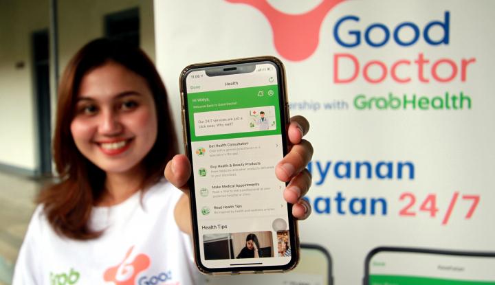 Tanya Dokter soal Corona Gratis Lewat Aplikasi Grab - Warta Ekonomi