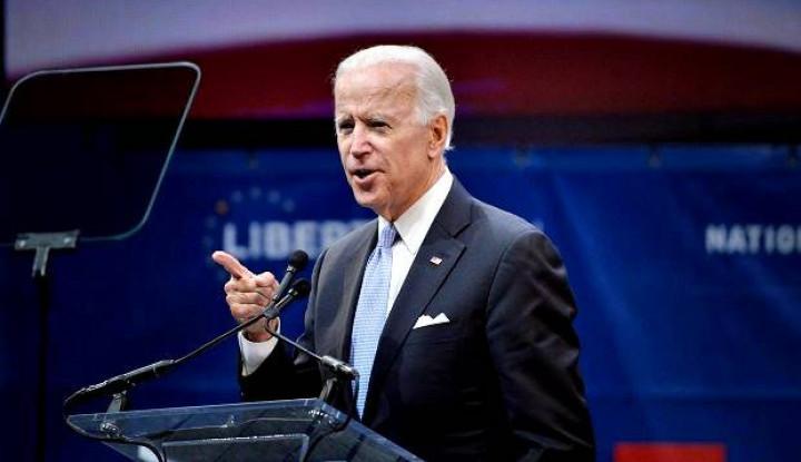 Kocak! Pake Meme Joget Peti Mati, Trump Serang Capres Joe Biden