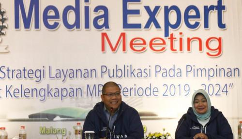 Foto Wartawan Sebut Humas MPR Telah Menjalin Hubungan Dengan Media Secara Massif dan Kompak