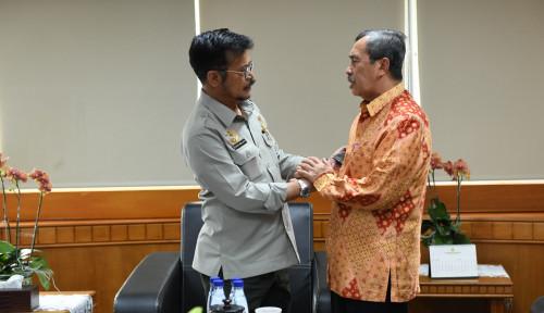Bertemu, Gubernur Riau dan Mentan Syahrul Akan Tingkatkan Perekonomian Riau Lewat Pertanian