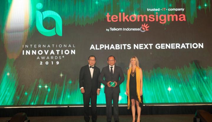 Tingkatkan Layanan Bagi Perbankan, Telkomsigma Raih Penghargaan International Innovation Awards - Warta Ekonomi