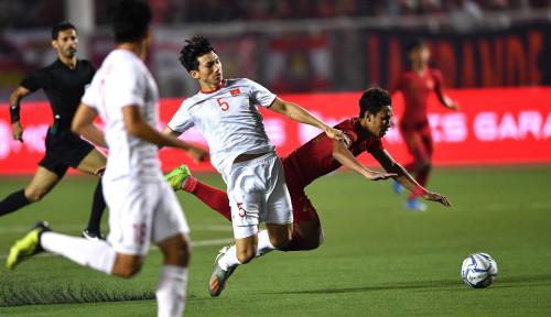 Foto Gagal Juara, Timnas Indonesia Dibantai 3-0 oleh Vietnam