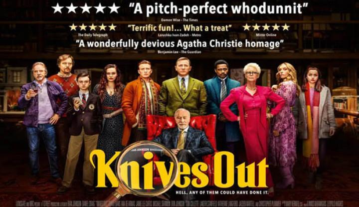 Knives Out: Thriller Berbeda dari Film Sejenisnya