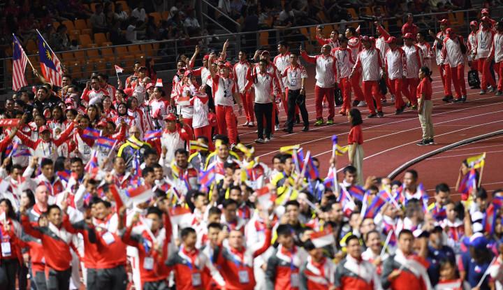 Upacara Penutupan SEA Games 2019 Meriah, Kontingen Indonesia Ikut Rayakan Kebahagiaan - Warta Ekonomi