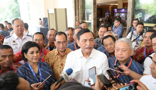 Foto Bilang Pertamina Sumber Kekacauan, Luhut Sepelekan Jokowi?