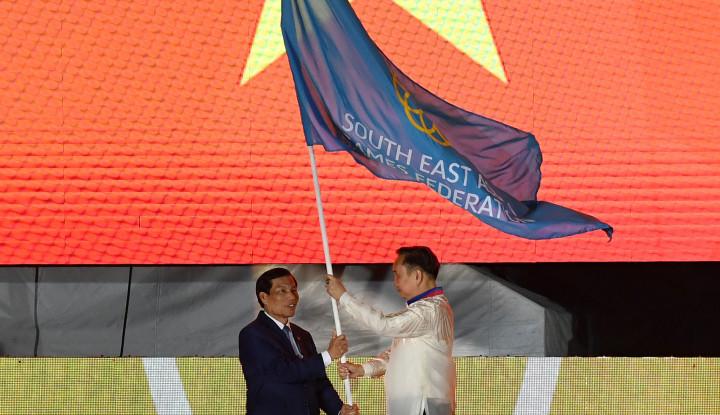Bendera SEA Games Sudah Berpindah Tangan, Vietnam Tuan Rumah 2021 - Warta Ekonomi