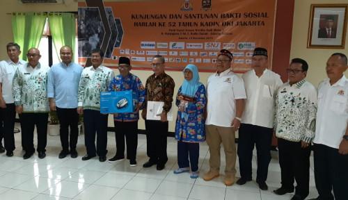 Foto Rayakan Hut Ke-52, Kadin Jakarta Gelar Baksos Serentak di 5 Wilayah