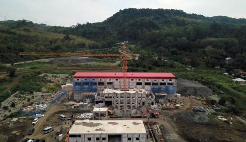 Foto Progres PLTA Jatigede Capai 73,18%, PLN Jamin 2020 Aliri Listrik di Jabar