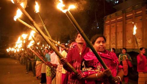 Foto Tuai Aksi Protes di India, RUU Kewarganegaraan Diskriminasi Muslim Disahkan