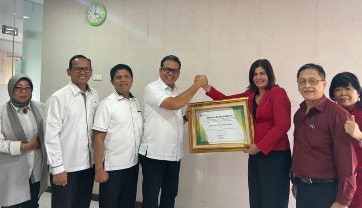 BPJamsostek Sumbagut Berikan Penghargaan PLKK RS di Medan