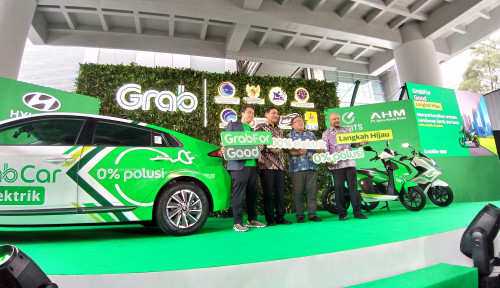 Foto Keren Gak, NIh? Tahun Depan, Grab Boyong Mobil dan Motor Listrik Mengaspal di Indonesia
