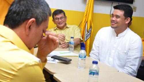Foto Berhasrat Menang, Bobby Jalin Komunikasi dengan PKS