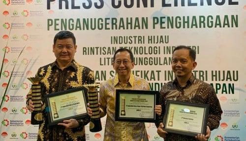 Foto Tak Cuma 1, APP Sinar Mas Raih Penghargaan Industri Hijau 2019
