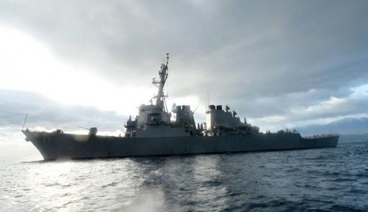 Kapal AS Berkekuatan Rudal Patroli di Perairan Taiwan, Begini Reaksi Rezim Xi Jinping