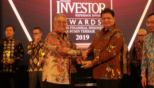 Foto Top, Presdir Tugu Insurance Jadi Top Executive of Insurance Company 2019