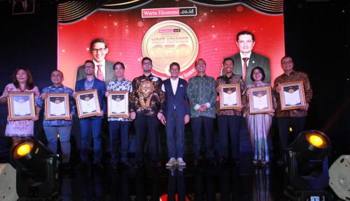 Foto Ini Dia Daftar Penerima Penghargaan Indonesia Most Admired CEO 2019