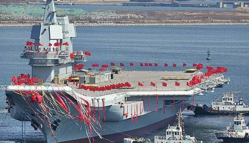 Latihan Kapal Induk Militer China di Dekat Taiwan Bidik Amerika Serikat