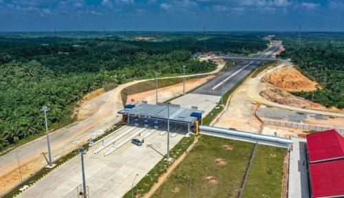 Foto Hubungkan Balikpapan-Ibu Kota Baru, PUPR Bangun Jalan Tol 60 Km