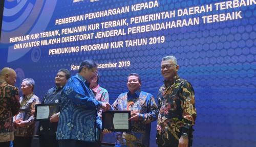 Foto Selamat! Askrindo Syariah Sabet Peringkat Ke II KUR Award