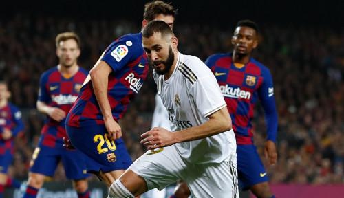 Usai Kalahkan Barcelona, Karim Benzema Posting 'Alhamdulilah' di Akun Instagramnya