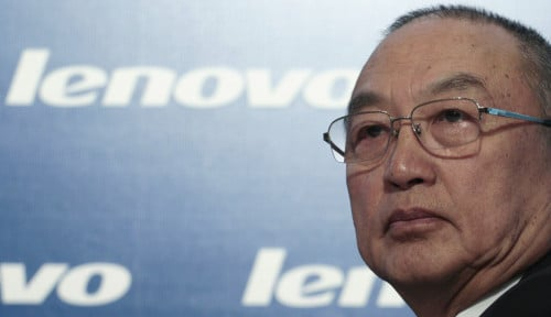 Foto Bos Lenovo, Si 'Godfather' China Pensiun Akhir Bulan Ini