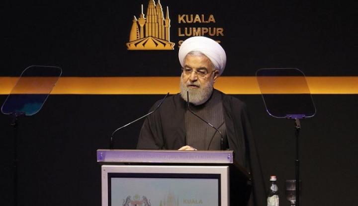 Berani Beda dari Pemimpin Lain, Hassan Rouhani Justru Olok-Olok Trump