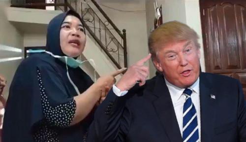 Ngakak! Usai Dimakzulkan DPR AS, Donald Trump Berobat ke Ningsih Tinampi