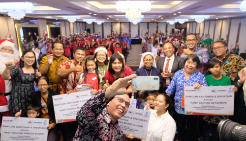 Natal Bareng BUMN, Askrindo-PGN Berbagi Kasih di Pontianak