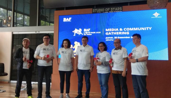 Bantu Kesehatan Mata Anak, BAF Dukung Lewat Event BAF Lions Run 2020. Yuk Daftar! - Warta Ekonomi