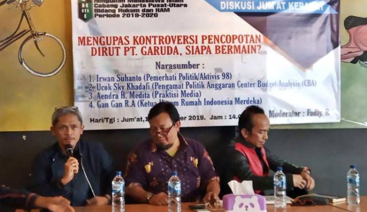 Pengamat: Polemik Kasus Garuda, Publik Jangan Salah Fokus - Warta Ekonomi